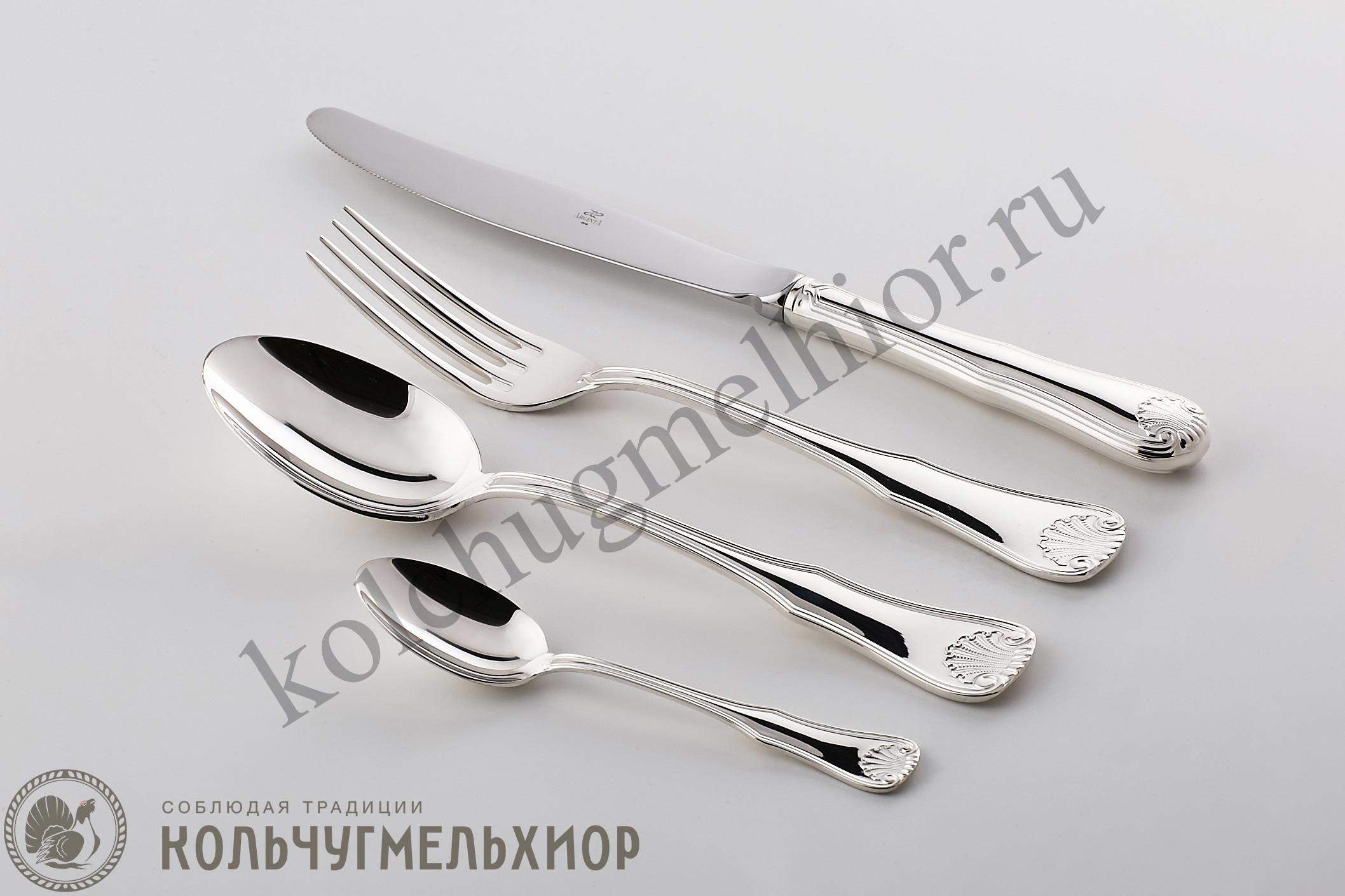 столовое серебро приборы, Кольчугино столовые приборы серебро
