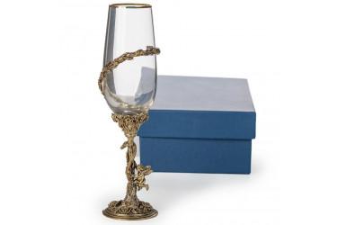 Бокалы для шампанского (латунь)